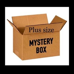 7pc Size 4X Mystery Box$65 ~ various brands